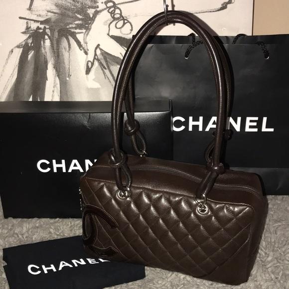 f723dcdfb1b2 CHANEL Handbags - Rare Color 💯 Authentic Chanel Cambon Bag